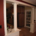 Columns, custom raised panels